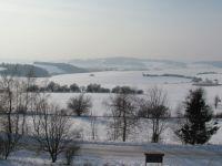 Zelenkův kopec u obce Ústup,výhled