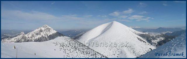Nejkrásnější vrcholy Malé Fatry - Velký Rozsutec a Stoh