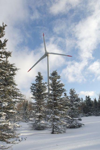 Větrný mlýn na Klínech