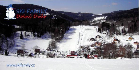 Ski Family Dolní Dvůr - lyžřaský areál