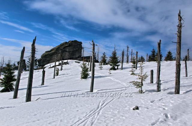 Čertův kámen je název pro skalisko nalézající se v nadmořské výšce 1025 m na vrcholku Černého vrchu na začátku Vlašského hřebene Jizerských horách.