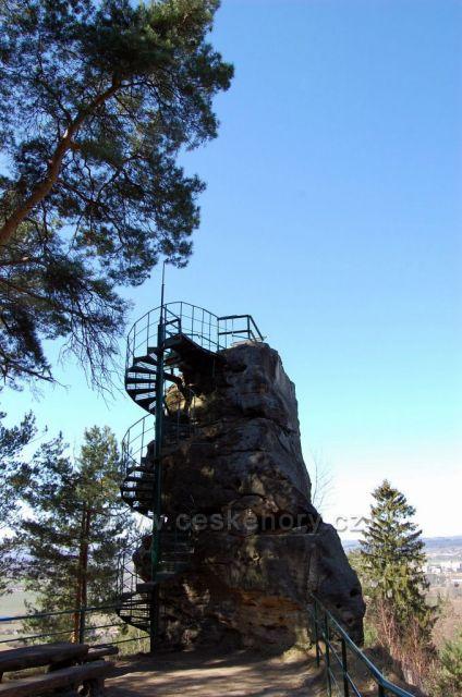 skalní vyhlídka Hlavatice