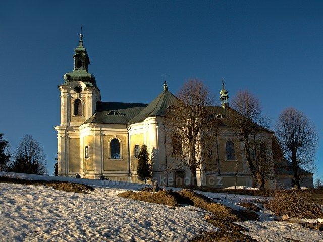 Smržovka - kostel sv. Archanděla Michaela