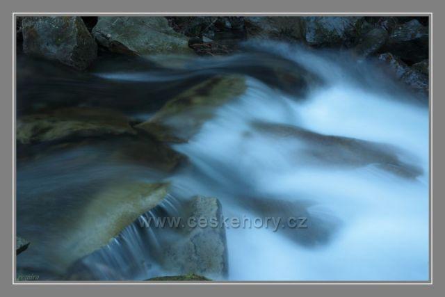 Vodopády pod Lysou horou