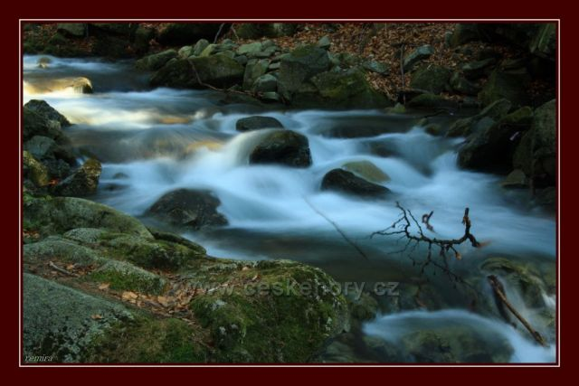 vodopády Mazáku pod Lysou horou