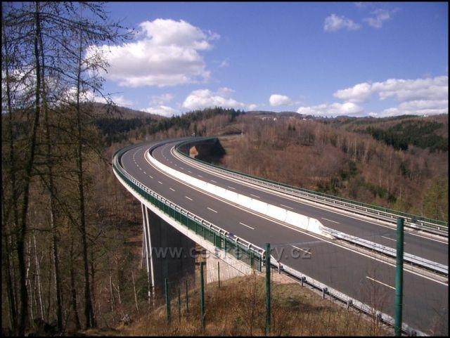 most na Horu sv.Šebestián z Chomutova