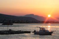 Východ slunce nad Trogirem