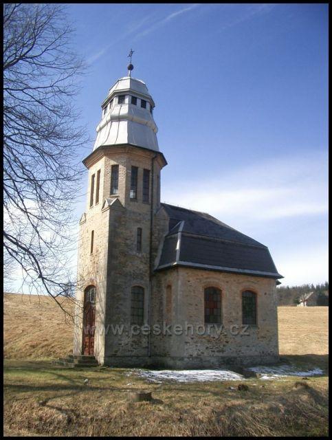 kostelík za Kovářskou