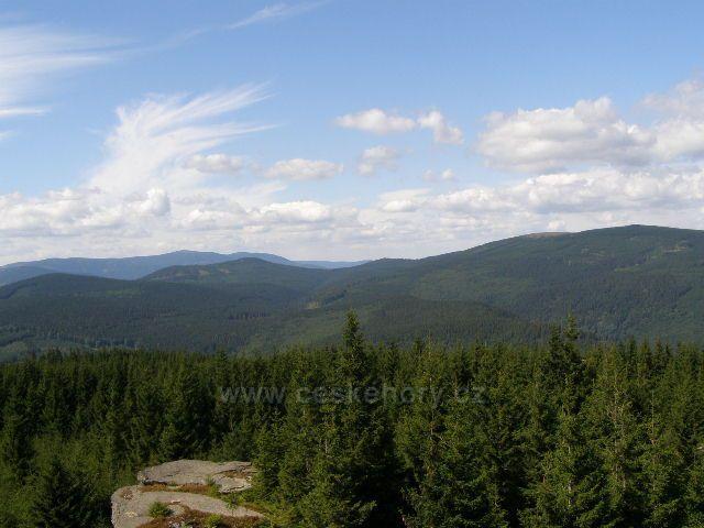 Medvědí hora, Pásmo Orlíka a Bradla z Jeleních louček