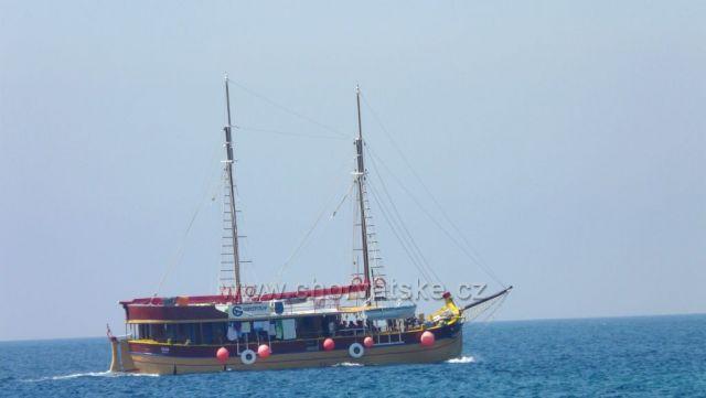 Výletní lodě