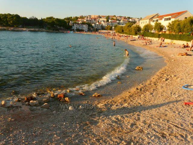 Pláž v Primoštenu
