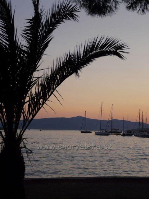 Trogir při západu slunce