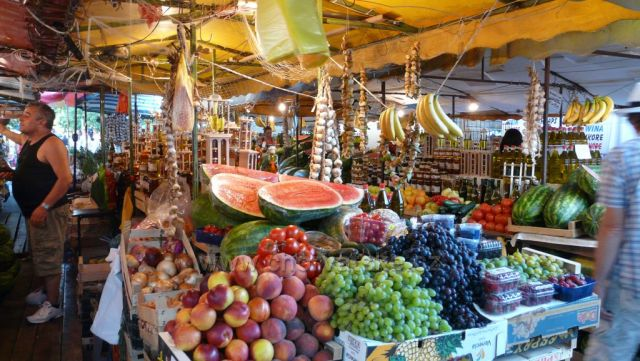 Tržnice v Trogiru
