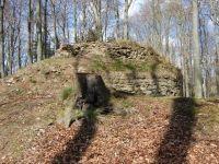 Krásný Buk-zřícenina hradu