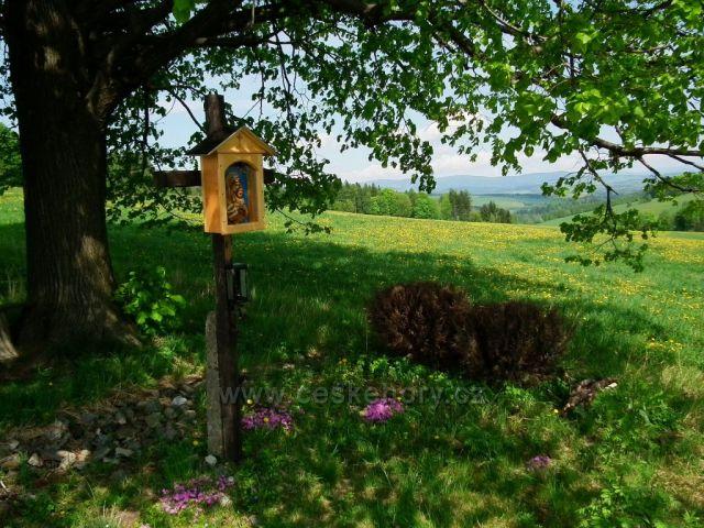 Křížek na Kostelním vrchu