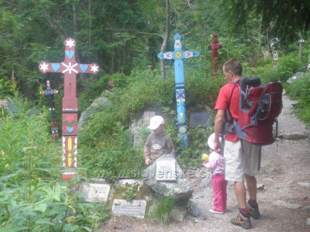 cintorín Vysoké Tatry