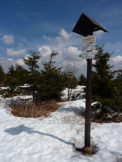 Velká Deštná - vrchol