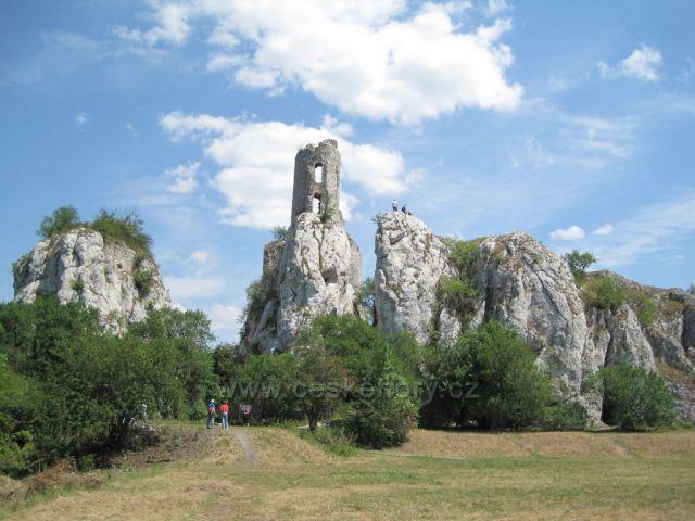 ubytovn - Zcenina Sirot hrad