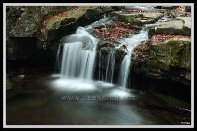 vodopád Stoloveckého potoka