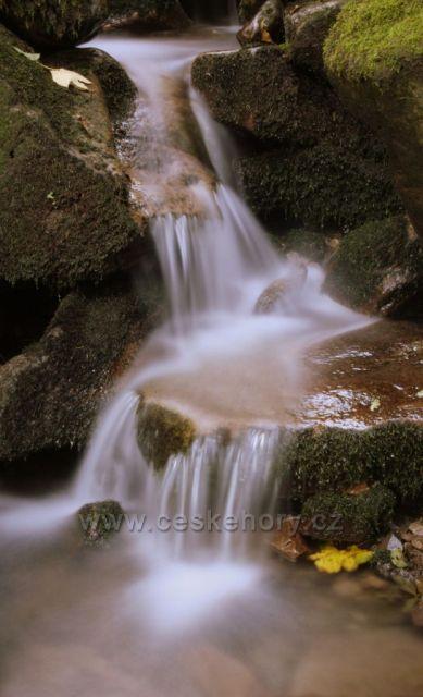 vodopáde pod Butořankou