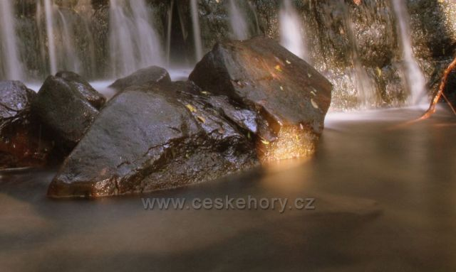 vodopády Sepetné