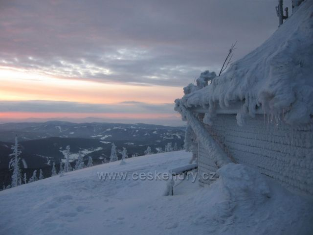 svítání na Lysé hoře