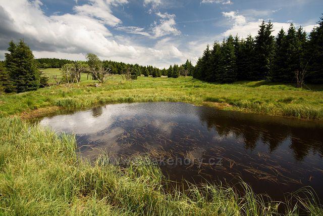 Horský rybníček