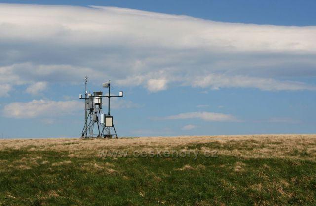 Meteorologická stanice u Luční boudy.
