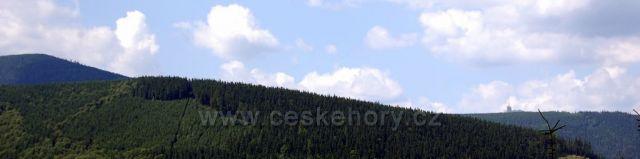 Výhled z Velký lipový na Lysou horu