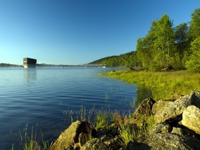 Josefodolská přehrada.