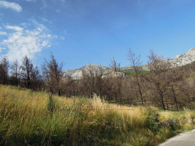 Cestou do Podgory při výletu z Mostaru