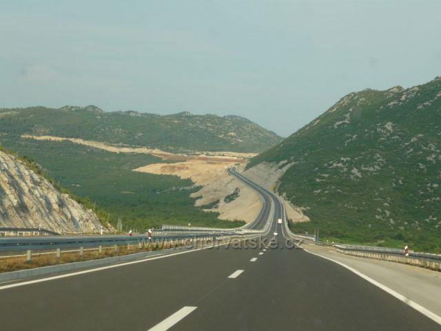 Krásná Chorvatská dálnice