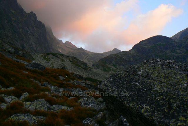 pohled z Velické doliny