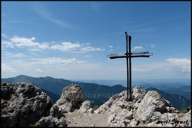 Velký Rozsutec - vrchol