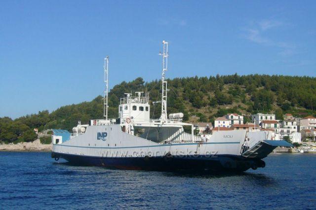 Trajekt na Korčulu,Drvenik