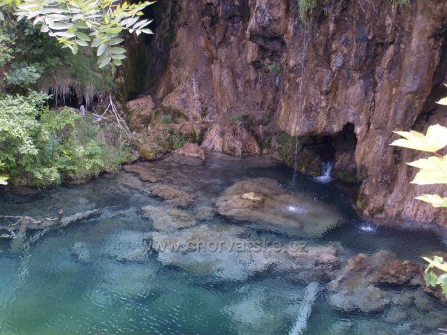křišťálová voda - plitvice