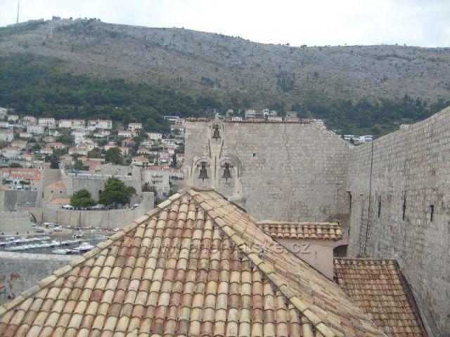 Dubrovník - pohled z hradeb