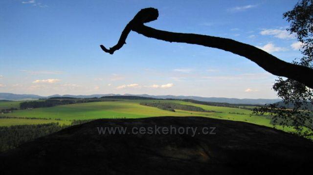 pohled do kraje z Ostaše