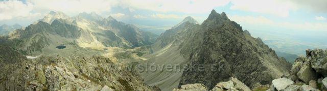 Panorama z Východné Vysoké