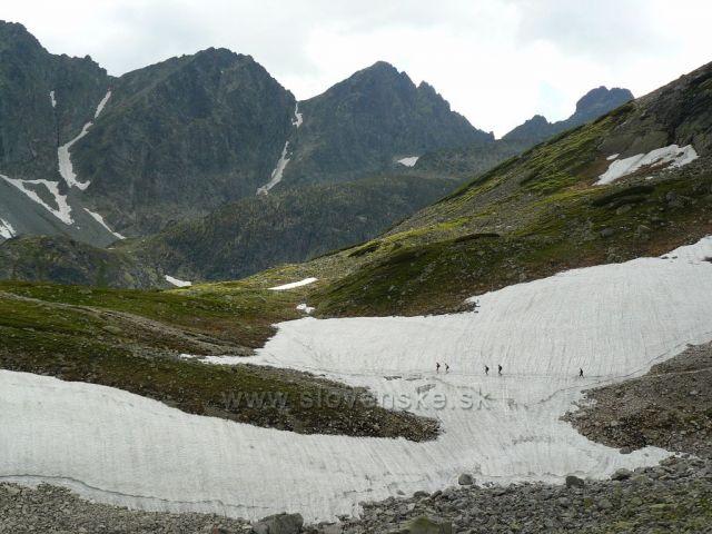 Posledny sneh v Studenej doline