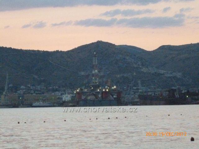Pohlad z Ciova na Trogir