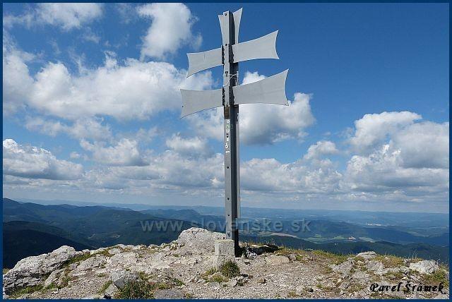 Kľak 1352 m.n.m - vrchol