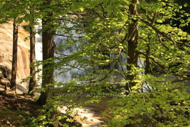 U Mumlavského vodopádu