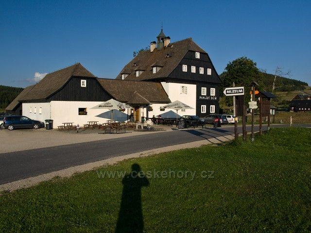 Panský dům - osada Jizerka