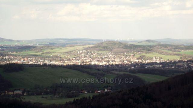 Varnsdorf foceno z Tolštejna