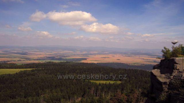 pohled ze Stolových hor