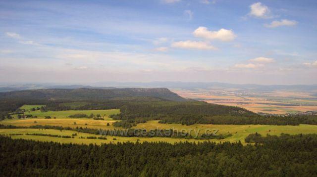 pohled ze Stolových hor - Polsko