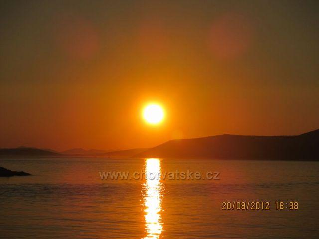 Západ slunce na Pašmanu