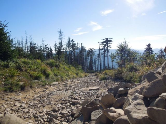 Cesta na Lysou horu