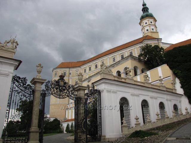 barokní zámek Mikulov